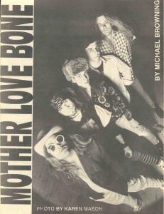 April 1990 City Heat Mother Love Bone