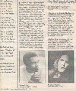 Seattle Times Tempo Word Patrick McDonald 11.2.90